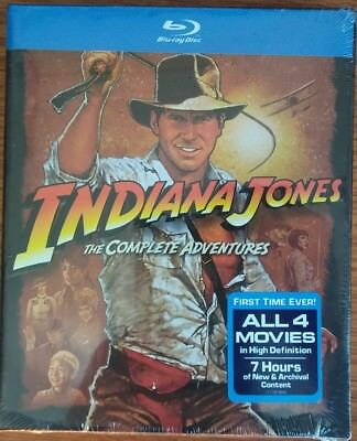 "Indiana Jones ""The Complete Adventures ""  BLU-RAY"