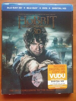 The Hobbit: 3D The Battle of the Five Armies (Blu-ray/DVD,