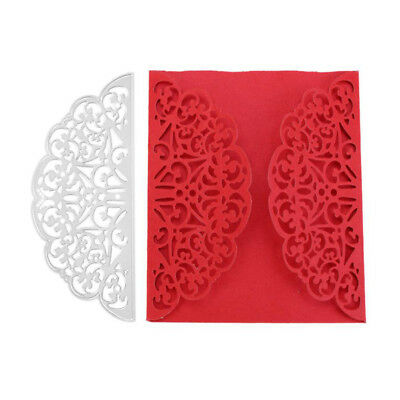Half Round Shape Cutting Dies Stencil for DIY Wedding Invitation Card Making