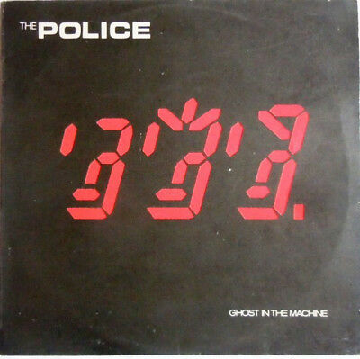 Police- Ghost In The Machine LP 1981