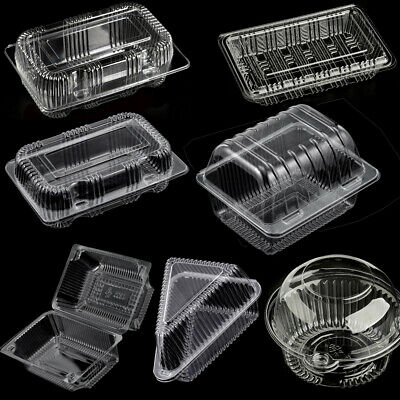 Disposable Clear Plastic Box/Containers Multi-Purpose/Sizes For Food/Cake/Salad