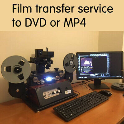 50 FT 8mm, Super 8, 16mm SOUND movie film transfer to DVD or High Definition