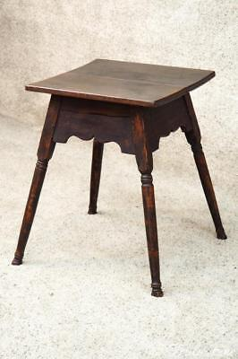 Bucks County 200 Year Old Tavern Table Lamp Side End Table Stand Primitive