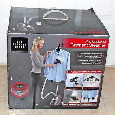 THE SHARPER IMAGE Professional Garment Steamer Portable PSSI-280 New in Box