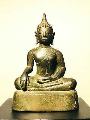 100% Authentic 15-16th Cent. A.D. Chiangsan Buddha from Lanna Kingdom, Thailand