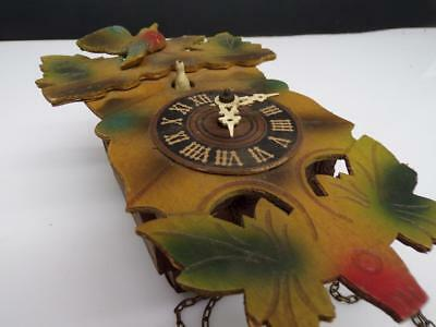 Bachmeier German Black Forest Cuckoo Novelty Clock Parts Movement E294a
