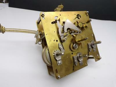"Franz Hermle ""81""  German Brass Clock Movement 351-050 48cm / 96.52 E079"