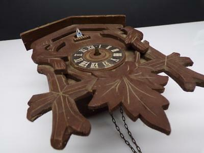 """Gerson"" Co. Black Forest Cuckoo Clock Brass Movement Parts D691"