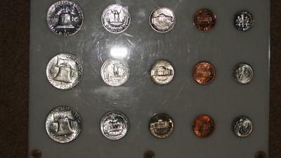 1962 Uncirculated & Proof Unique Silver Mint Set -Old-Timers Set!! Great Gift!!