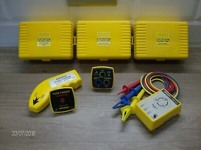 Robin Tester Collection plus Martindale Electrical Test Equipment