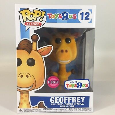 GEOFFREY (Flocked) Toys R Us Funko Shop Exclusive Ad Icons Funko Pop New