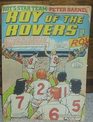 ROY OF THE ROVERS 24th March 1979 Football Family Robinson Tommy's Troubles