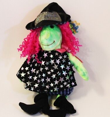 """TY Beanie Babies Witch """"SCARY"""" HALLOWEEN Beanie Baby Collection 2000,2001 NWOT"""