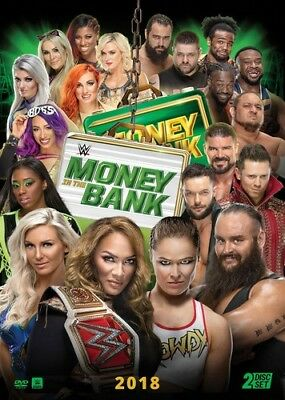 WWE: Money In The Bank 2018 [New DVD] 2 Pack, Ac-3/Dolby Digital, Amaray Case,