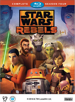 Star Wars: Rebels Complete Season 4 [New Blu-ray] 2 Pack