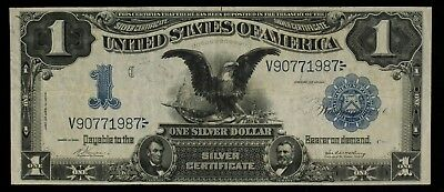 1899 Silver Certificate $1 Large Note BLACK EAGLE Fr#229 US Currency Item#M3547