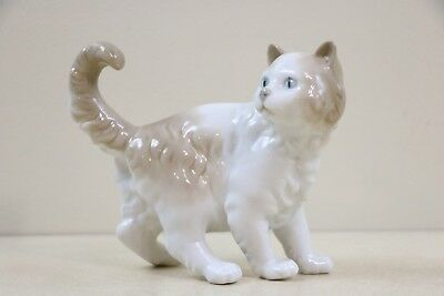 Retired 1977 Lladro Spain Daisa Porcelain Standing NAO Kitten Cat Signed