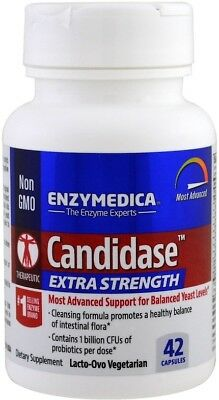 Extra Strength Candidase, Enzymedica, 42 capsule