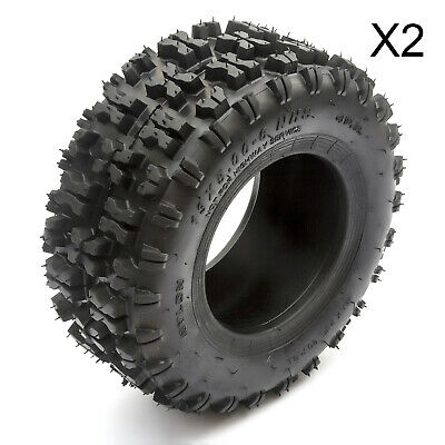 "2 Turf Lawnmower TYRE Tire 13 5.00 6 Inch 6"" 13x5.00-6 Wheel Rim ATV Golf Cart"
