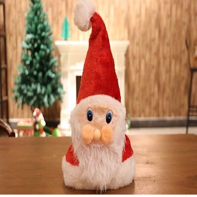 3db4dc5095db8 Cute Santa Claus Hat Christmas Cap Xmas Party Decor Supplies Gift for Kids  Adult