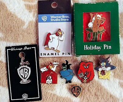 Looney Tunes WB Studio Store Pin Lot of 8 Bugs Gossamer Scooby Tom Jerry