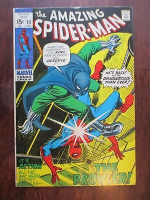 Amazing Spider-Man 93  1st Appearance Arthur Stacy