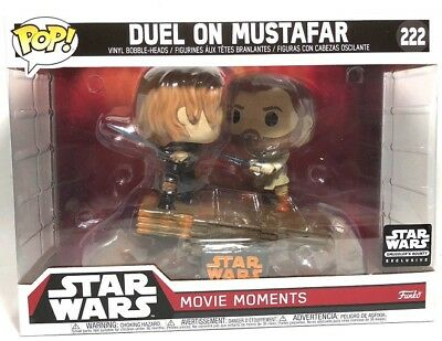 Funko Pop Star Wars Duel On Mustafar Smugglers Bounty Exclusive #222 Limited