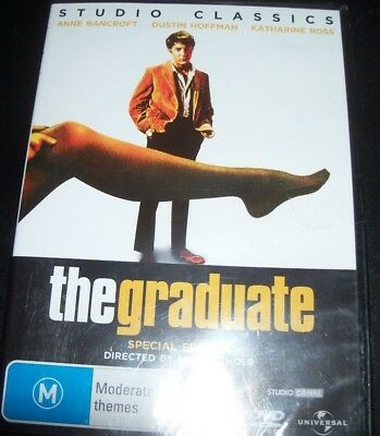 The Graduate (Anne Bancroft Dustin Hoffman) (Australia Region 4) DVD - NEW