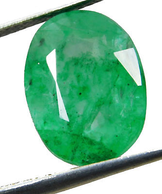 Natural 5.15 Cts. Beautiful Oval Cut Colombian Loose Emerald Gems. 10421
