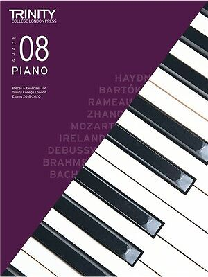 Trinity College London Piano Exam Pieces 2018-2020 Grade 8 (Book Only)