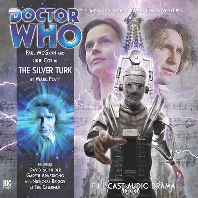 Doctor Who The Silver Turk, 2011 Big Finish Full Cast Audio CD Paul McGann