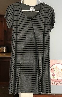 Maternity Nursing Short Sleeve Sleep Night Gown Nurture By Lamaze Size M