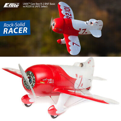 E-flite EFLU6150 UMX Gee Bee R-2 BNF Basic Airplane w/ AS3X and SAFE Select