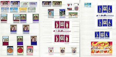 Bermuda, Cayman Islands, Christmas Island 48 Stamps 1972–1996 Inc Silver Jubilee