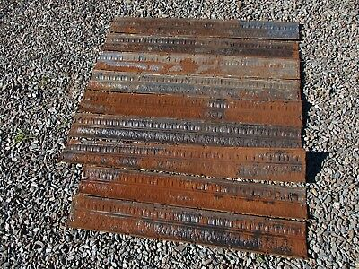 35' Antique Tin Ceiling Cornice -  Backsplash, Furniture Accents