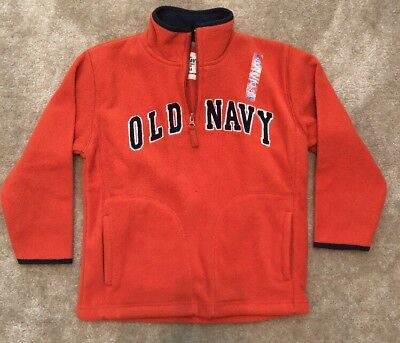 Old Navy Orange Pullover Jacket Size Youth Small