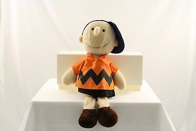 Vintage 1970s Peanuts Gang CHARLIE BROWN Determined Products Plush Doll