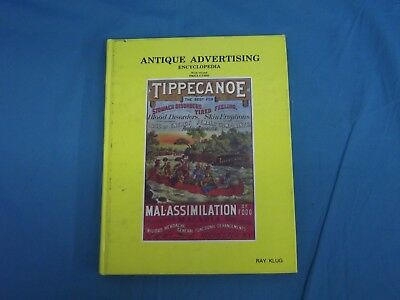 Vintage 1985 Antique Advertising Encyclopedia With Price Guide