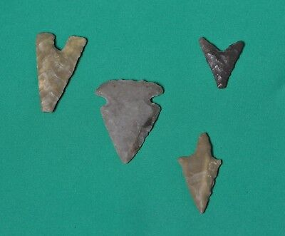 Antique African arrowheads - 4 pieces - Neolithic?
