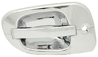 door handle cover exterior drivers chrome plastic Freightliner Cascadia 08-15