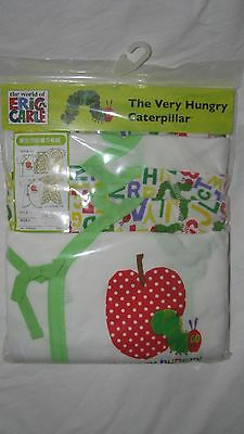 THE VERY HUNGRY CATERPILLAR  0-3 mon 5 pcs set Japanese style sz 3-6 kg new