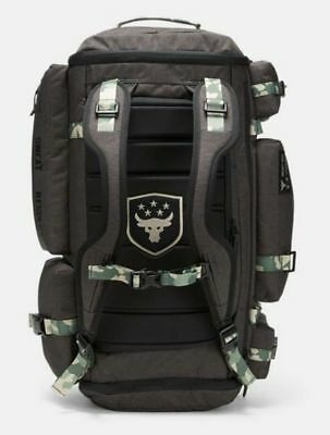 bf1ab16805d Under Armour UA Project Rock Respect Regiment CAMO Range Duffle Bag Backpack