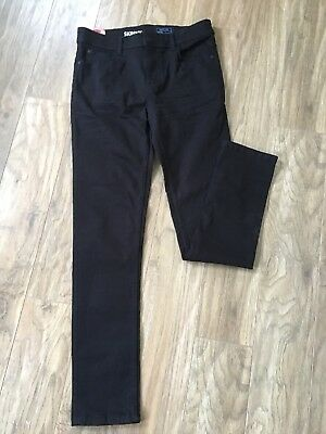 Boys Black Skinny Fit Jeans Age 14 BNWT NEXT