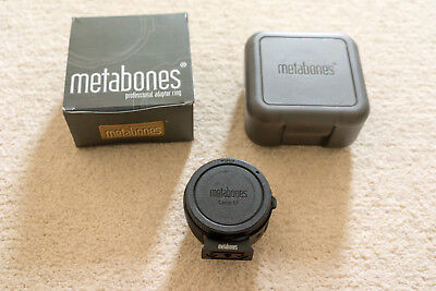 Metabones Mark IV Canon EF to Sony E mount Adapter