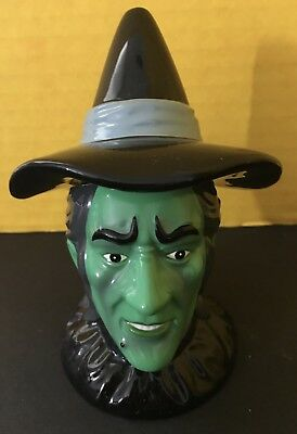Vintage Enesco Wizard Of Oz Wicked Witch Of The West Salt & Pepper Shakers 1999