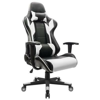 Homall Gaming Chair Racing Style High-back Faux Leather Office Chair Computer De