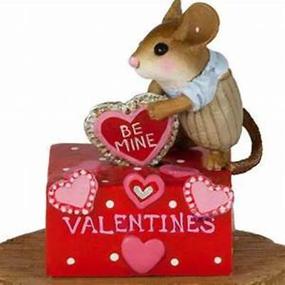 HIS SECRET VALENTINE BOX Wee Forest Folk, WFF# M-189D