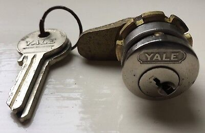 Vintage Yale Lock Cabinet Drawer Door Cupboard Quality Strong