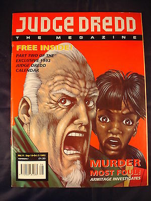 Judge Dredd Megazine - Issue 11 - Sep 19 - Oct 5, 1992