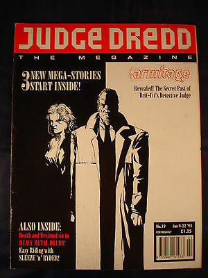 Judge Dredd Megazine - Issue 19 - Jan 9 - 22, 1993
